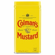 Catering Size Colmans Double Superfine English Mustard 454g Tin.