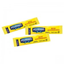 Catering Size Hellmanns Mayonnaise Sachets 200 x 15ml