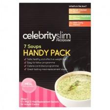 Celebrity Slim Handy Pack Assorted Soups 7 per pack