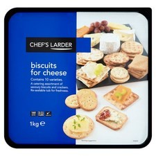 Chefs Larder Biscuits for Cheese 1kg tub
