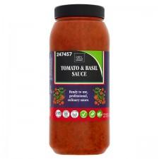 Chefs Larder Tomato and Basil Sauce 2.15 Litres