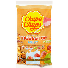 Chupa Chups Best of  Variety Lollies Bag of 120