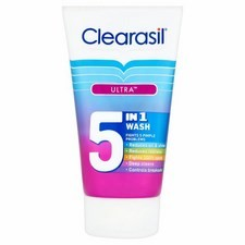 Clearasil Ultra 5In1 Wash 150ml