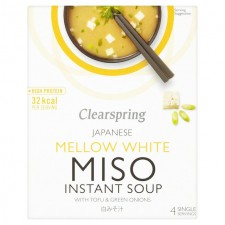 Clearspring White Miso Soup and Tofu 4 x 10g