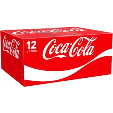 Coca Cola Regular 12 x 330ml Cans