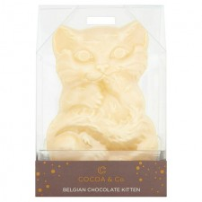 Cocoa and Co Belgian Chocolate Kitten 135g