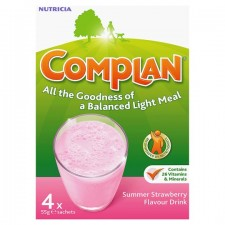 Complan Completemeal Strawberry 4 Sachets X 55g