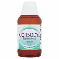 Corsodyl Mint Mouthwash 300ml