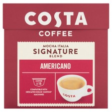 Costa Signature Blend Americano By Nescafe Dolce Gusto Pods 16 per pack