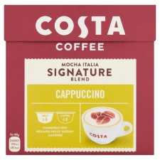 Costa Signature Blend Cappuccino By Nescafe Dolce Gusto Pods 16 per pack