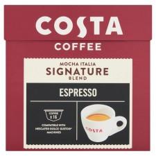 Costa Signature Blend Espresso By Nescafe Dolce Gusto Pods 16 per pack