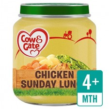 Cow And Gate 4 Months Chicken Sunday Lunch 125g