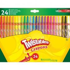 Crayola 24 Twistable Crayons 3yrs+