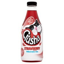 Crusha Milk Shake Mix 1 litre Strawberry