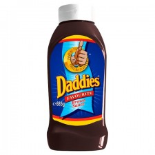 Daddies Brown Sauce Bottle 685g
