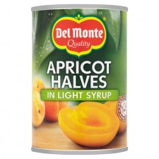 Del Monte Apricot Halves in Light Syrup 410g