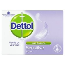 Dettol Antibacterial Soap Bar Sensitive 100g