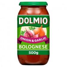 Dolmio Bolognese Onion and Garlic 500g