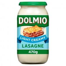 Dolmio Lasagne White Sauce Light 470g