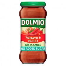 Dolmio Pasta Sauce Tomato and Chilli No Added Sugar 350g