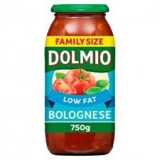 Dolmio Sauce For Bolognese Original Low Fat 750g