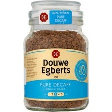 Douwe Egberts Pure Decaffeinated Coffee 95g