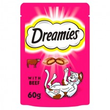 Dreamies Beef Cat Treat 60g
