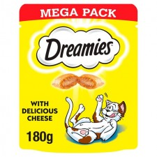 Dreamies Cheese Cat Treat Big Pack 180g