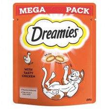 Dreamies Chicken Cat Treat Big Pack 200g
