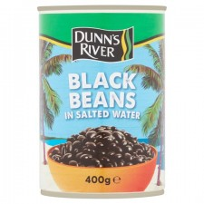 Dunns River Black Beans In Salted Water 400g