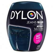 Dylon Machine All in 1 Fabric Dye Jeans Blue