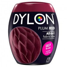 Dylon Machine All in 1 Fabric Dye Plum Red