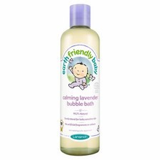 Earth Friendly Baby Calming Lavender Bubble Bath ECOCERT 300ml