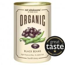 Eat Wholesome Organic Black Beans 400g