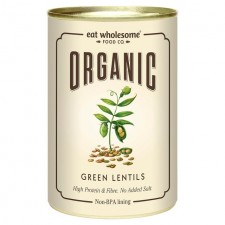Eat Wholesome Organic Green Lentils 400g
