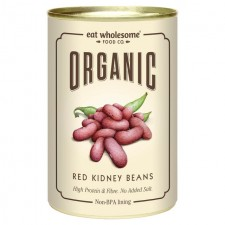 Eat Wholesome Organic Red Kidney Beans 400g