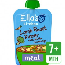 Ellas Kitchen Lamb Roast Dinner with All the Trimmings130g 7 Months