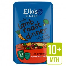 Ellas Kitchen Lamb Roast Dinner with All the Trimmings 190g