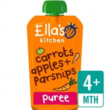 Ellas Kitchen Organic Carrots Apples and Parsnips 120g 4 Months