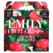 Emily Apple Fruit Crisps 4 x 15g