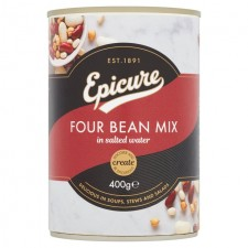 Epicure Four Bean Mix 400g