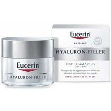 Eucerin Anti Ageing Hyaluron Filler Day Cream 50ml with SPF 15 and UVA Protection