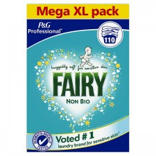 Fairy Non Biological Washing Powder 110 Washes 7.75kg
