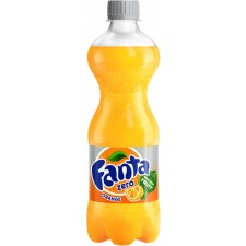 Fanta Orange Zero 500ml Bottle