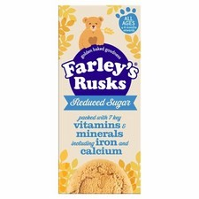 Farleys Rusks 4 Month Reduced Sugar Original x9