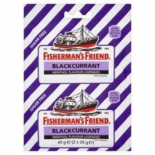 Fishermans Friend Blackcurrant 2 x 20g