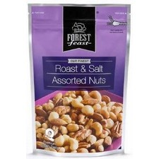 Forest Feast Roasted and Salted Assorted Nuts 250g