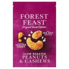 Forest Feast Slow Roast Heather Honey Cashews and Peanuts 120g