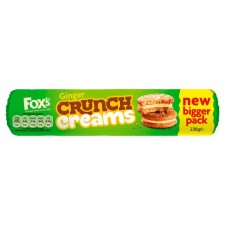 Foxs Ginger Crunch Creams 230g