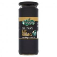 Fragata Stoneless Black Hojiblanca Olives 440g